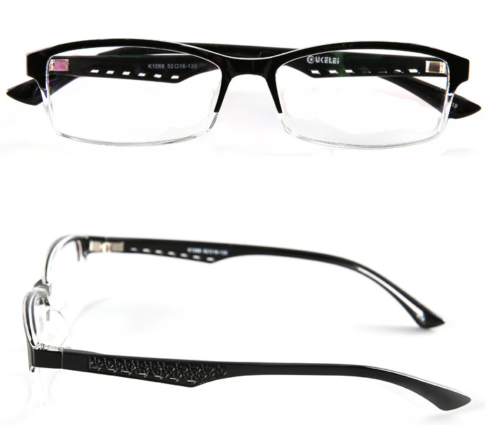 eyewear frames ready stock, gentleman optical glasses frame, half frame glasses