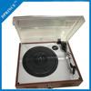 Wooden Retro Gramophone with belt-drive system