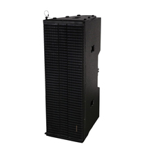 "Boutum Audio dual 12"" two way empty line array speaker box"
