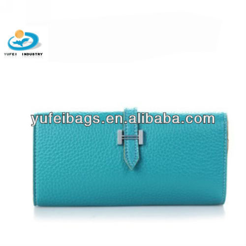 Candy Color PU Check Purse