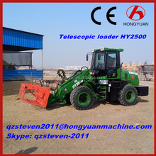 Telescopic Wheel Loader 2 Tons Lifting Capacity HY2500 with CE Approved