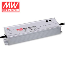 185W 24V HEP LED Driver Meanwell HEP-185-24A Waterproof LED Power Supply IP65