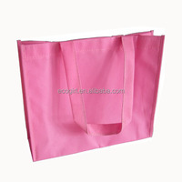 cheap price high quality OEM logo cutomized promotional tote shopping grocery give away eco reusable nonwoven bag