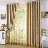 European-style blackout curtain for bed-room and living-room