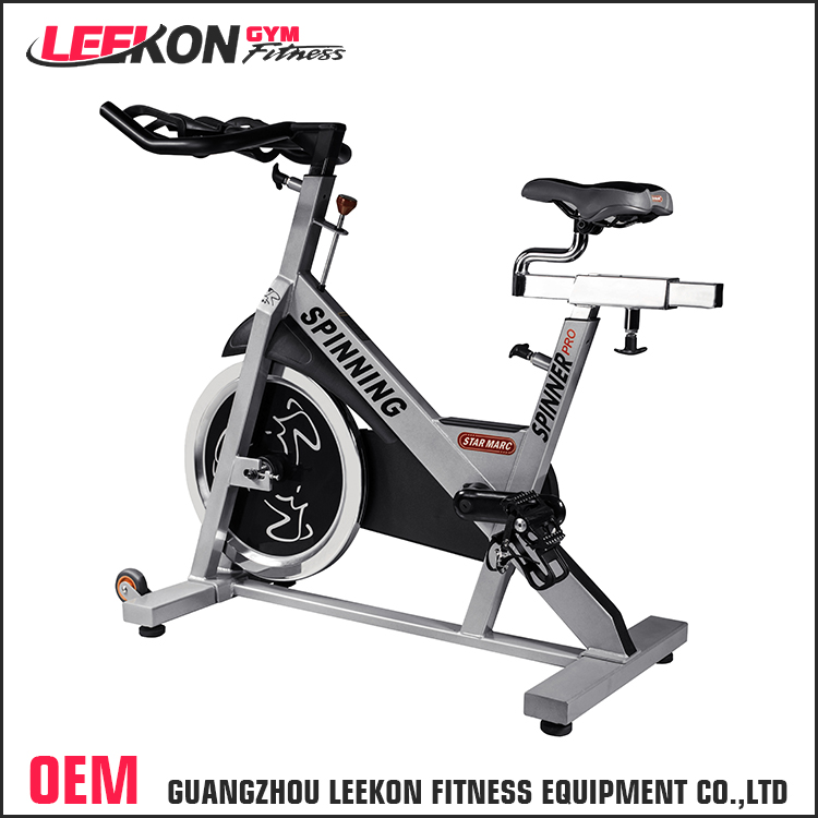 leekon wholesale high quality exercise bike commercial gym use 20kg flywheel spinning bike