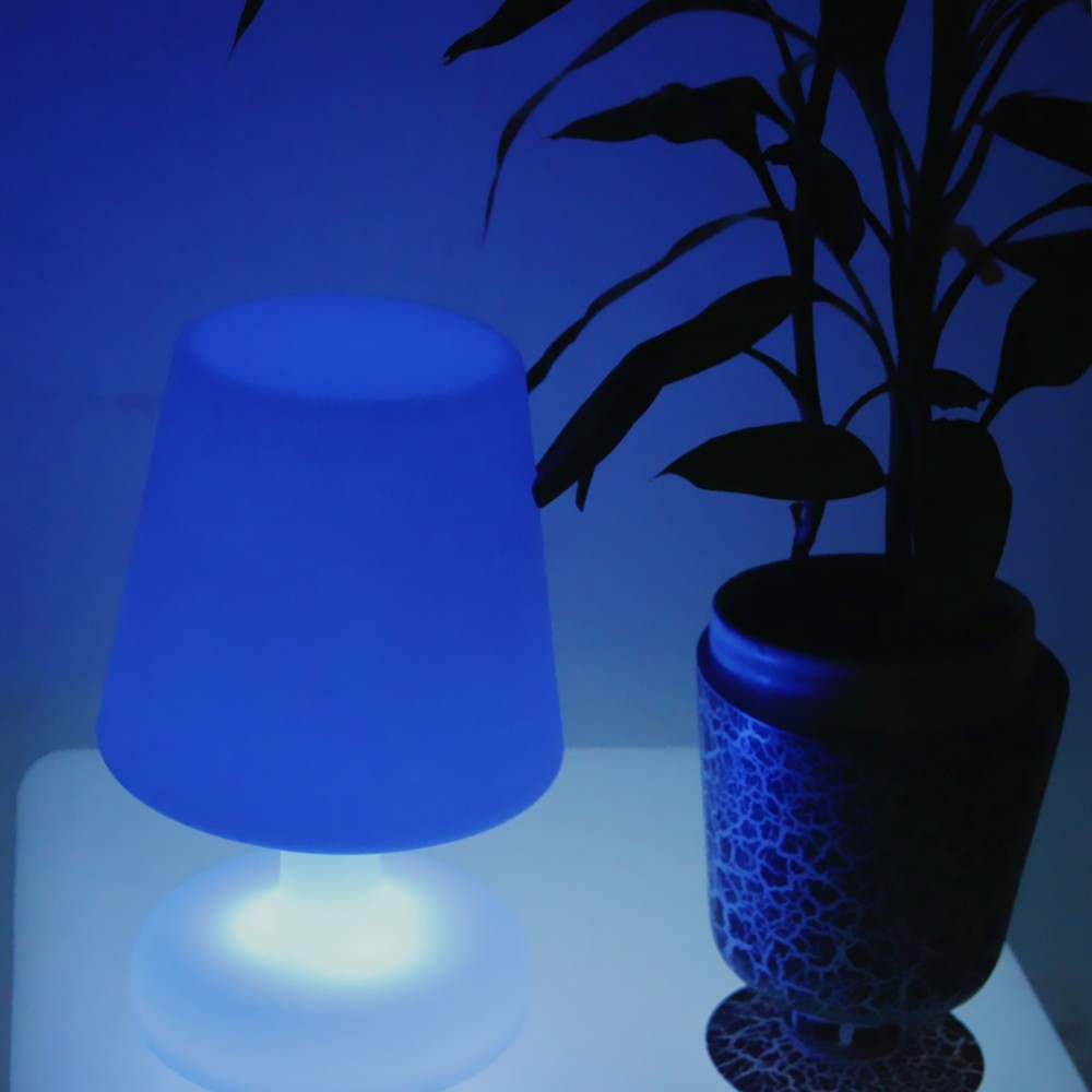 portable led mood light in 16 color change best service led table lamp/ promition gift led table lamp