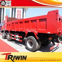 new condition china brand CA3208P9K2T3E 220hp diesel engine euro 3 6x2 10 ton dump truck in Zambia