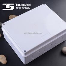 IP55 ABS body waterproof junction box electrical connector enclosure
