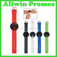 Fashion round electronic digital bracelet/wrist/black color watch 2016