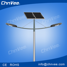jiaxing chnvee solar solution for light street luminaire led street light with solar photovoltaic panels rechargeable battery