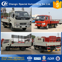 China CLW Dongfeng 4x2 4x4 Cargo Truck Mini 3ton, 4ton, 5ton, 6ton Light duty diesel cargo truck small lorry van truck Supplier