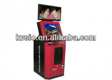 Digital Dual screen Multifunction Self Service Photo Kiosk with bluetooth, external USB