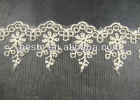 Guangzhou factory wholesale stretch lace trimming