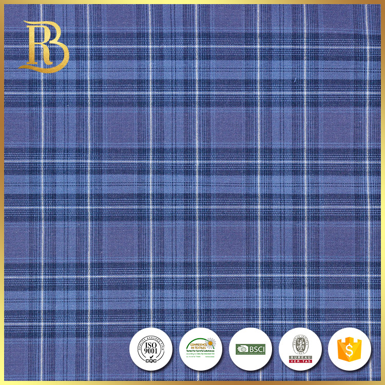 High Quality Linen Plain Yarn Dyed Wholesale 100% Cotton Plaid Fabric For Bedding