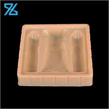 Hot sale decorative PS blister plastic packaging disposable cosmetic tray