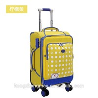 Hot sale carry on luggage with universal travel luggage wholesale bags/travel luggage bags for kids