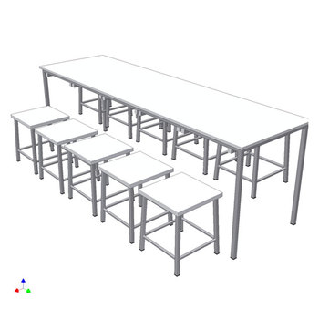 TABLES FOR CANTEENS