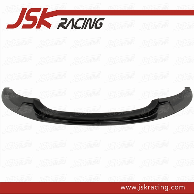JSK STYLE CARBON FIBER FRONT BUMPER LIP FOR BMW 3 SERIES E92 E93 1M BUMPER