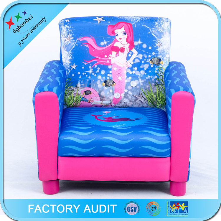 Living Room Sectional Fabric Sofa With Cartoon Printting