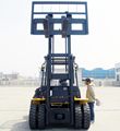 China New Forklift truck 6 toneladas with 3 stage mast