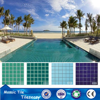 China ceramic porcelain tile swimming pool tiles for spa
