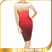 2013 New Sexy Bandage Ombre Dress