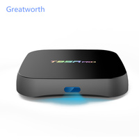 New 2G/16G TV Box T95R PRO, Amlogic S912, Android 6.0, KODI 16.1, Strong WiFi 2.4G/5.8G BT4.0 H.265 4K Player