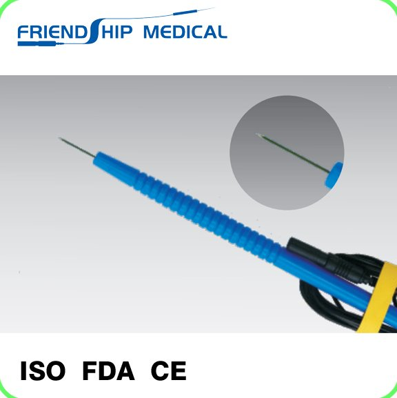 Medical disposable tip needle nerve probe