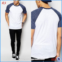 Best Selling Products In America Tall T-Shirts Wholesale Man Clothes Raglan T Shirt