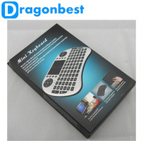 2.4G Mini Rii I8 Wireless Keyboard Remote Controller Air Mouse With Touchpad Keyboards 92 Keys For For Tv Box Tablet Mini Pc Ps3