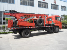 low price 400M cheapest truck mounted water well drilling rig SLY550 for sale