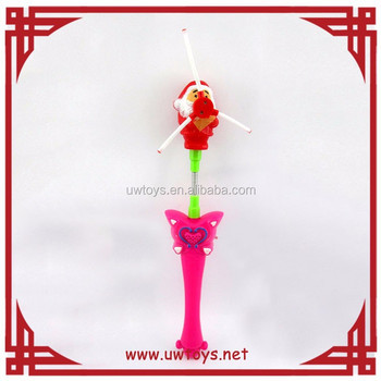 Newest design high quality flashing stick with music