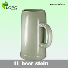 Blank custom Sublimation Mug/Coated Mug 1L Beer Stein
