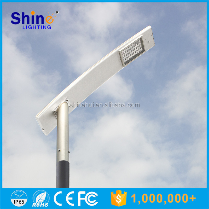 New design solar power integrated led light 60W solar street light