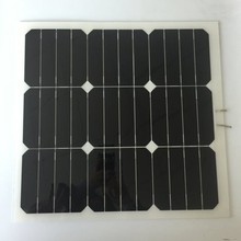 Best Service Hot Sale Photovoltaic Cells Small Size Solar Panel Flexible 30W 10W 5 Watt Solar Panel 20V 10V 5V