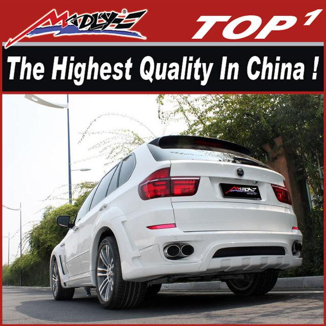 High quality Car body kits for BMW 2009-2014 X5 HMV style dual muffler x5 body kit for bmw