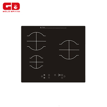 Newest models 3 burner ceramic electric hob/ touch control battery powered induction cooker/ ceramic eurokera induction cooktop