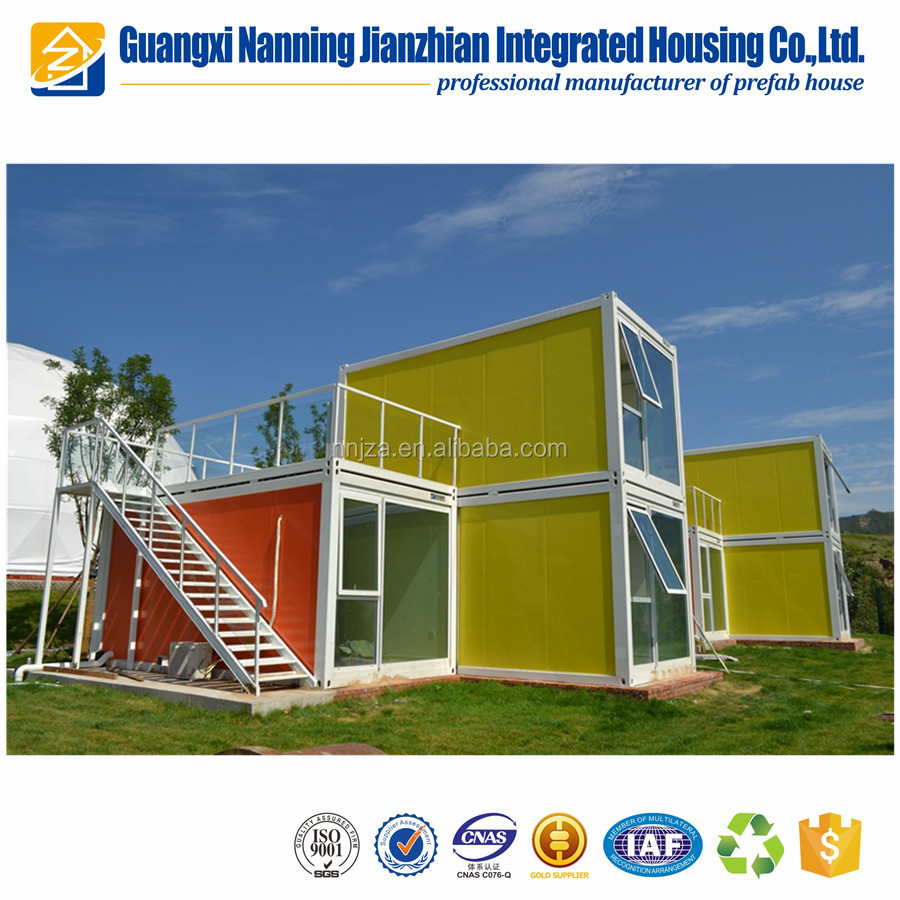 China Leading technology prefab modular house shipping container homes/office/storage for sale to Australia