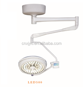 LED500 shadowless operating light rechargeable emergency surgical lamp