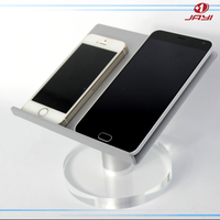 Custom portable aluminum clear lucite acrylic iPad cell phone display stand rack