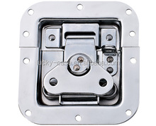 Medium Recessed Butterfly Latch.padlockable.Spring-Loaded