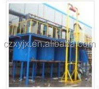 2-4 mm china SBS/APP modified bitumen waterproof membrane/flexible roofing material production line