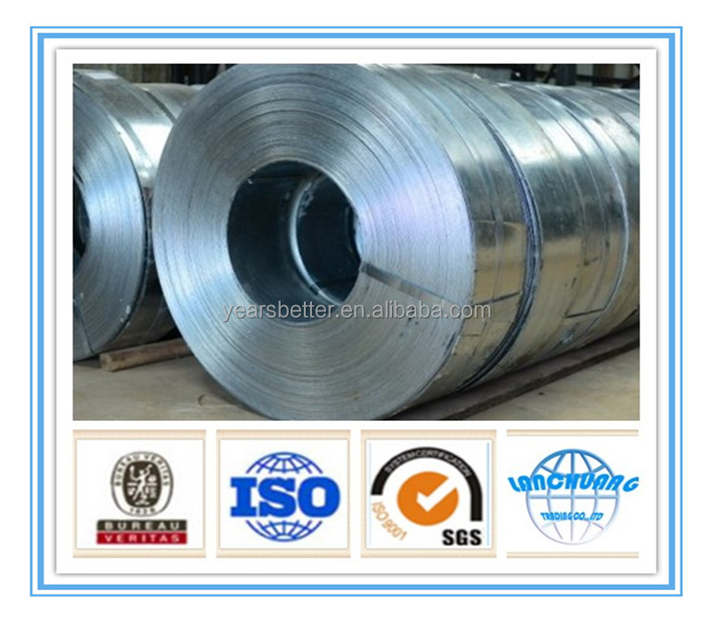 galvanized hoop steel coil strip by Tangshan Lanchuang