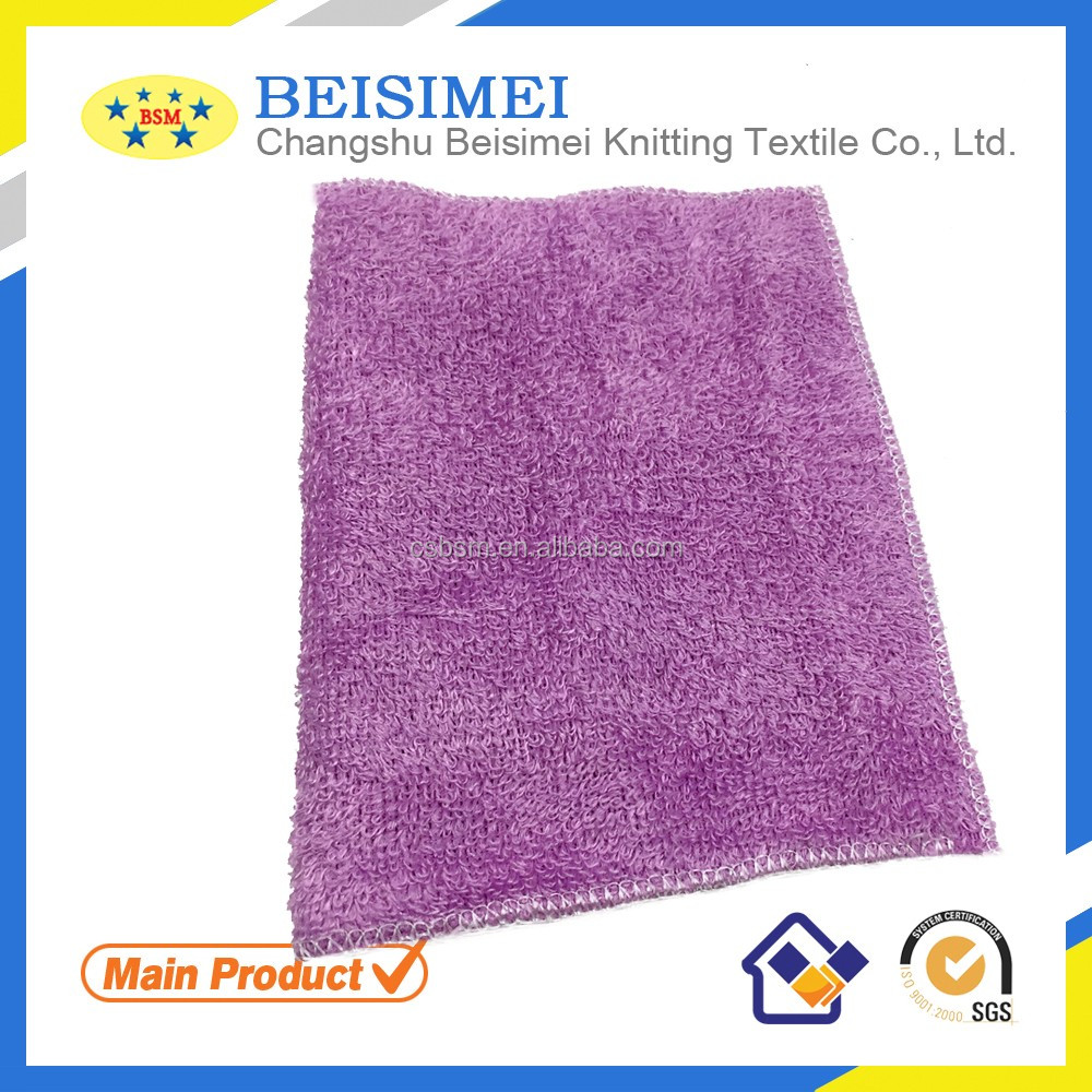 2016 bamboo fiber cleaning cloth for family and hotel use