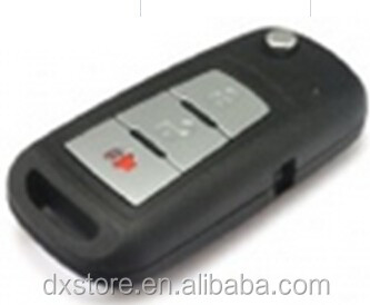 Factory sale proton remote key preve 2+1 buttons car remote key with 433mhz right key blade