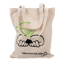 eco recyclable shopping cotton bag/canvas bag/canvas tote