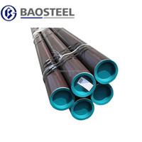 Carbon Black Seamless Steel Pipe Made in China Baosteel