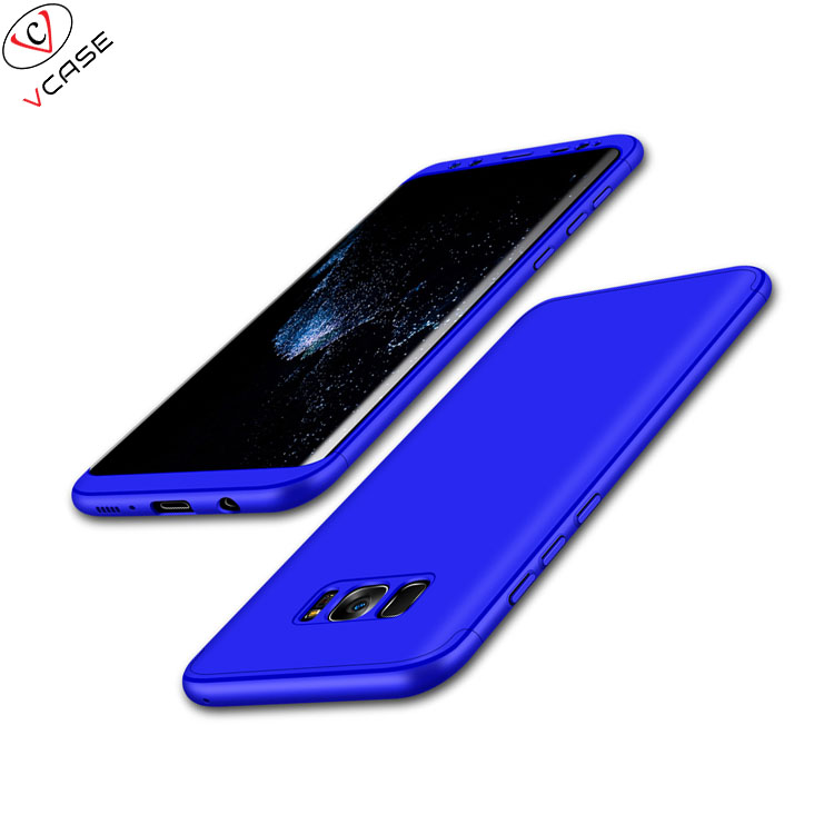 For Samsung S8 S8 Plus GKK Hard PC 360 Full Protective Mobile Phone <strong>Case</strong> 360