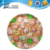 Plastic round cheap decorative serving tray wholesale