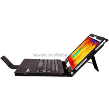 Detachable Bluetooth Keyboard Leather Case With Holder for Samsung Galaxy Note 10.1 (2014 Edition) / P600, etc.